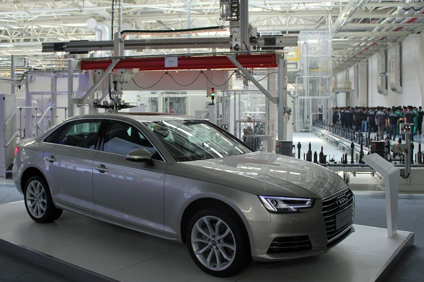 Audi unveiled a new factory for high-efficiency transmissions in Tianjin, China, to be used in petrol-powered cars.