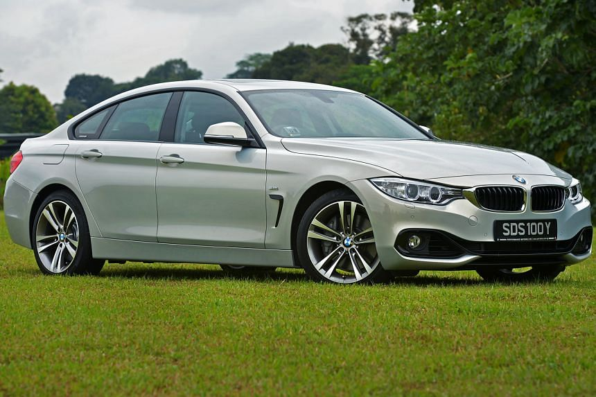 The BMW 440i Gran Coupe is a practical family car in a low-slung aerodynamic package.
