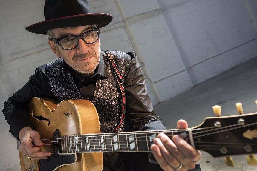 English singer- songwriter Elvis Costello challenges himself to find new ways to express his songs.