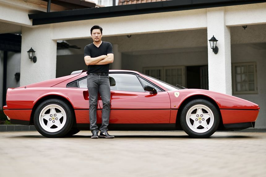 Mr Roy Teo drives his Ferrari 328 GTB occasionally and has barely added 5,000km to its mileage even after a decade.