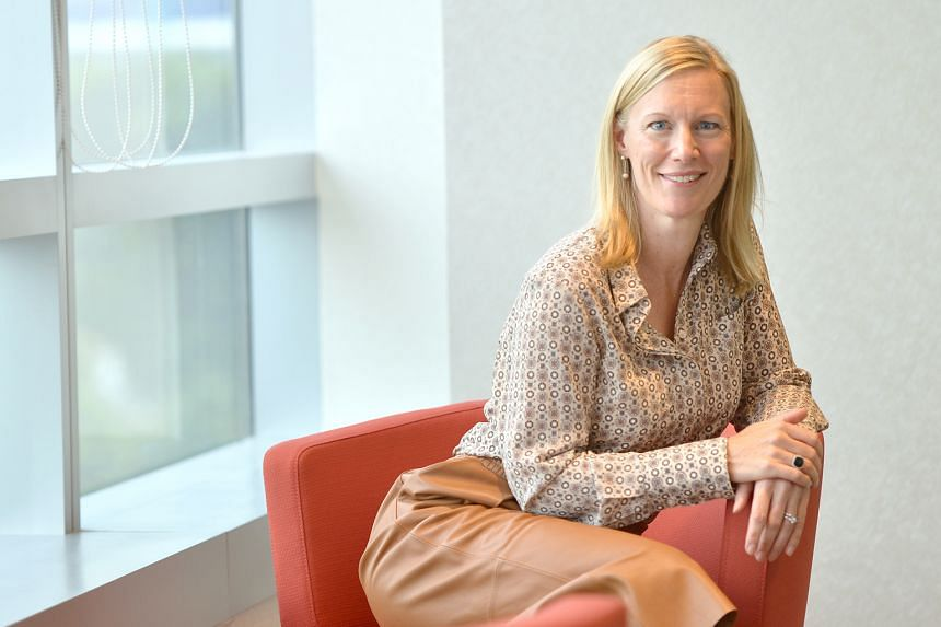 While many women might have been daunted at trying to break the glass ceiling in the shipping sector, which is still perceived as a male-dominated industry, Ms Hall says she relishes the challenge.