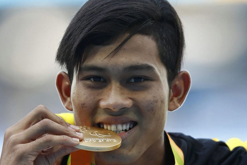 Abdul Latif Romly earned his nation's third gold in Rio.