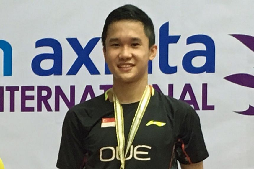 Ryan Ng, 18, hopes to fill the void left by recently retired Derek Wong, Singapore's top men's singles shuttler.