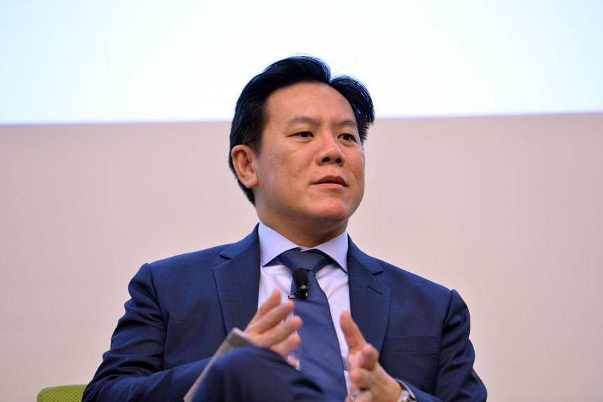 Mr Chew Sutat, head of equities and fixed income, SGX.