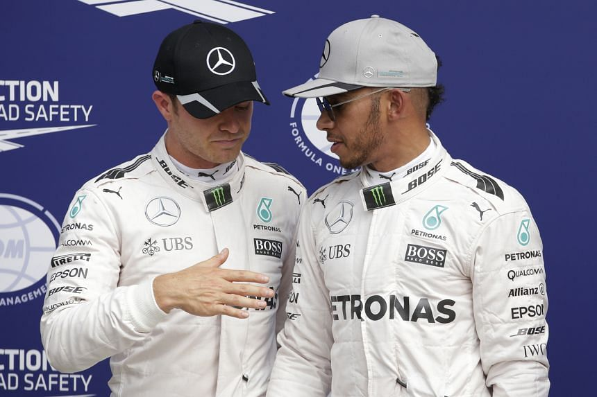 With two points separating the two Mercedes drivers Lewis Hamilton and Nico Rosberg, the Singapore night race may well turn out to be a decisive moment in this year's drivers' championship.
