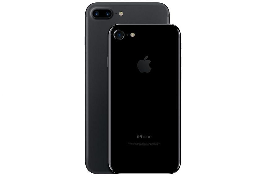 The iPhone 7 (front) and 7 Plus may not have the same features as their competitors, but are still some of the best phones out there.
