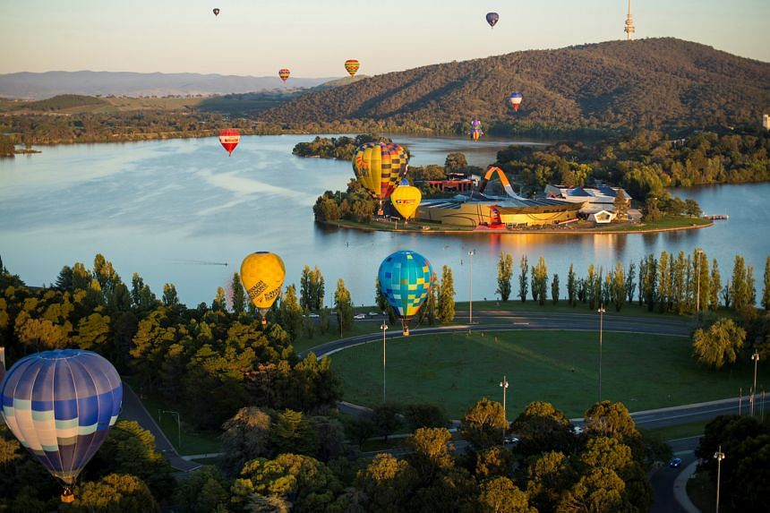 Enjoy discounts for flights to Canberra (left) by booking at travel website CheapTickets.sg.