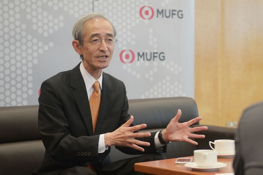 Mr Hirano says Bank of Tokyo- Mitsubishi UFJ is looking to the region to broaden its international exposure.
