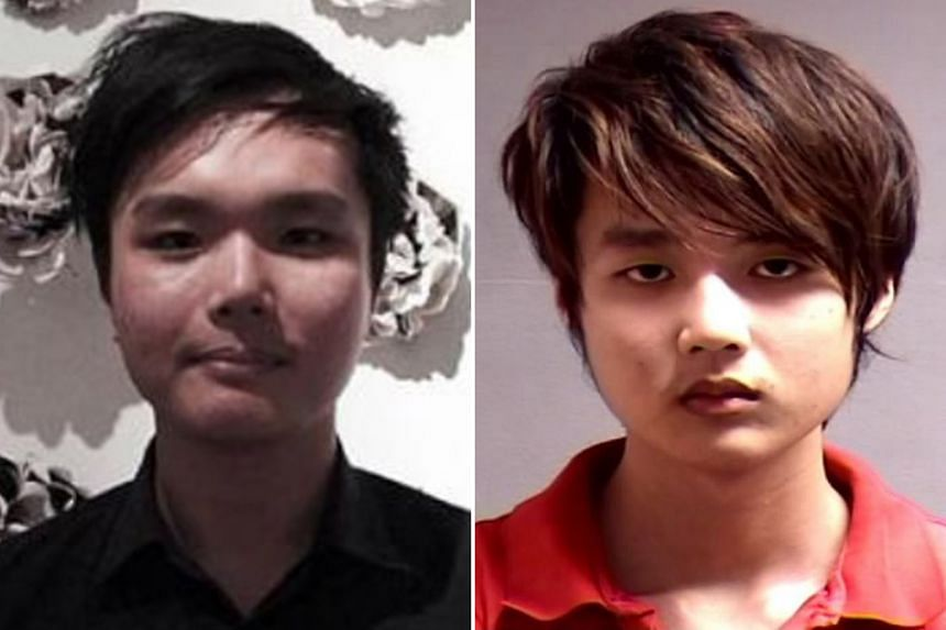 The High Court heard that Mr Ng Yao Cheng (left) and his younger brother Yao Wei (above) had an acrimonious relationship and would often quarrel over trivial matters. On April 13 last year, the older man was found with multiple knife wounds on his ne