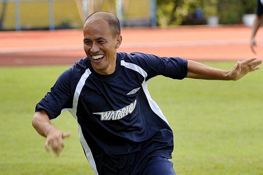 Therdsak Chaiman, Chonburi FC's player-manager, who spent six seasons in the S-League.