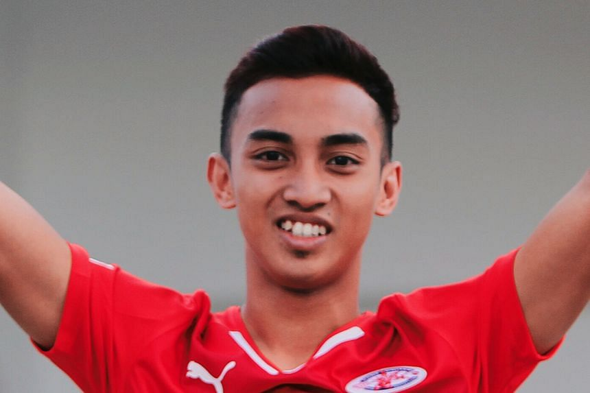 Faris Ramli, Home United and winger for the Singapore national team.