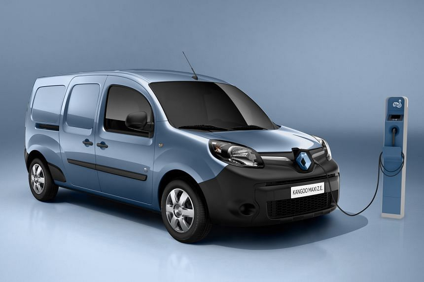 The replacement begins with 31 Renault Kangoo Maxi ZE (above) vans to be delivered by year end.
