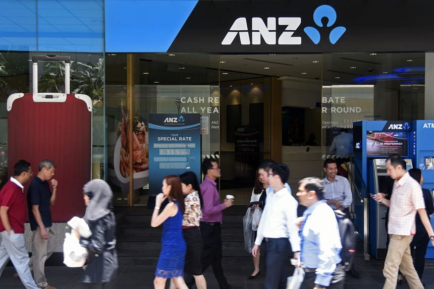 ANZ says it has almost 1,900 staff working in Singapore, down from about 2,200 a year ago, but the reduction was largely achieved through natural attrition.