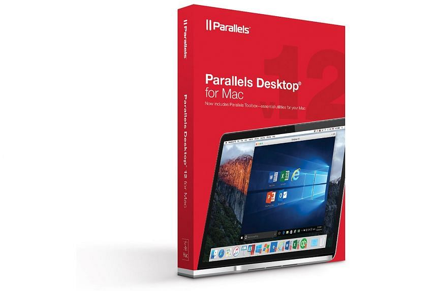 The Parallels Toolbox (above) helps to simplify everyday tasks on the Mac. It comes bundled with the new Parallels Desktop 12 (below).