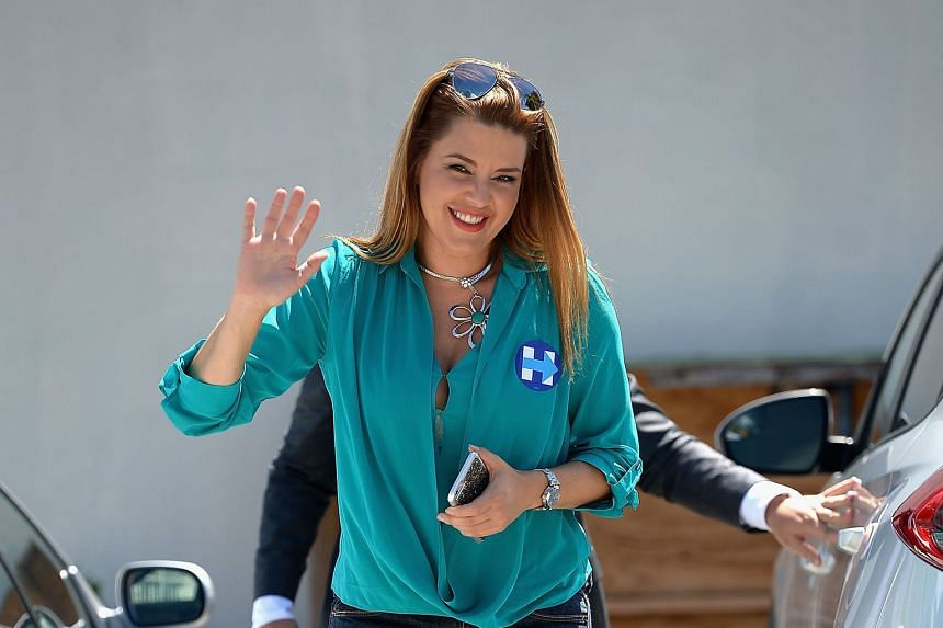 """Ms Machado shot to public attention after Mrs Clinton raised her case at the first presidential debate on Sept 26. Mr Trump has called her """"Miss Piggy"""" and """"Miss Housekeeping"""" over her weight gain and Latina origins."""