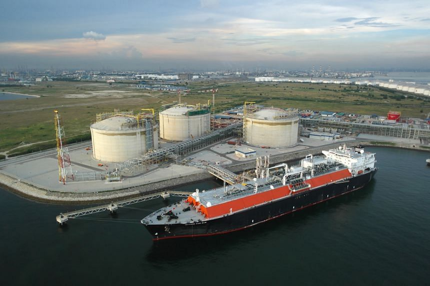 The LNG terminal on Jurong Island is to be expanded and its annual throughput capacity will almost double from six million to 11 million tonnes by next year. A fourth tank will be completed in 2018.