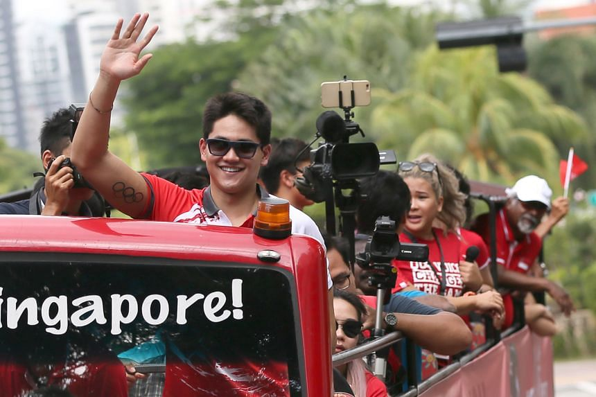 Joseph Schooling will be back in Singapore on Nov 22 to take part in a golf fund-raising event organised by the Singapore Swimming Association.