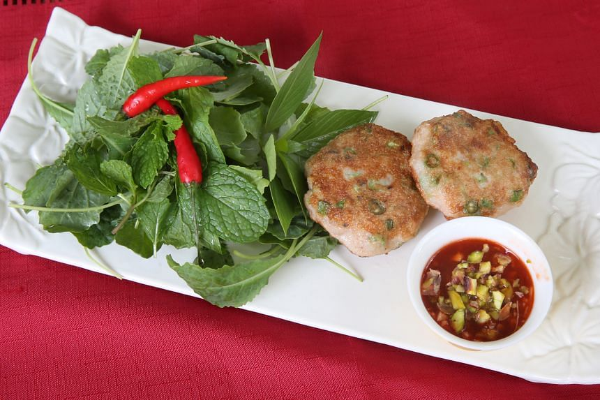 Serve fish cakes plain for little ones but dress them up with fresh herbs and serve with a chilli dip for adults.