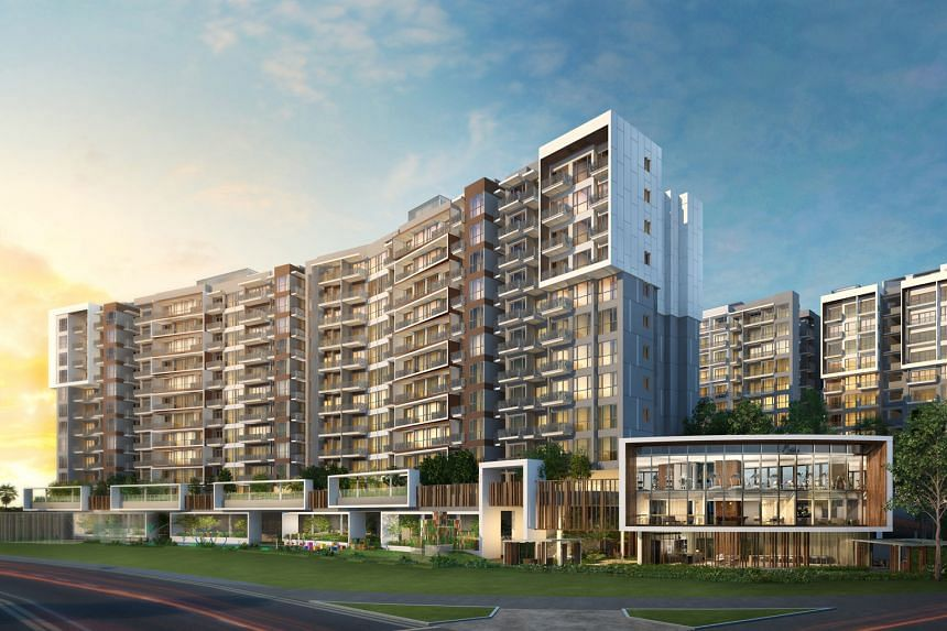"""Forest Woods, which is being developed by CDL, Hong Leong Holdings and TID, opened for preview on Sept 24, and its showflat has since attracted """"more than 4,500 groups of visitors and families""""."""