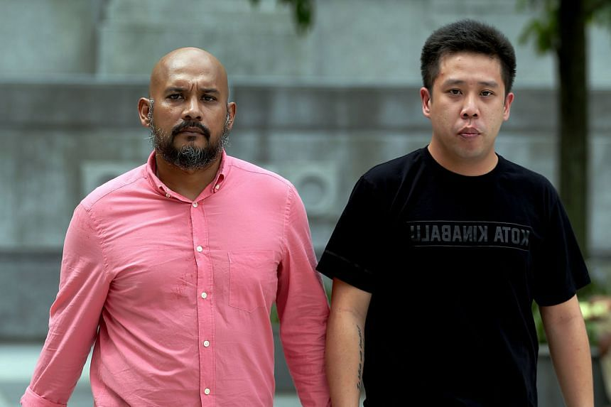 Zulkifli (far left) and Khoo had admitted to promoting the HolyCrit bicycle races without written approval and conducting it without a permit on Sept 26 and Nov 29 in 2014. The judge said that public safety was compromised during the races.
