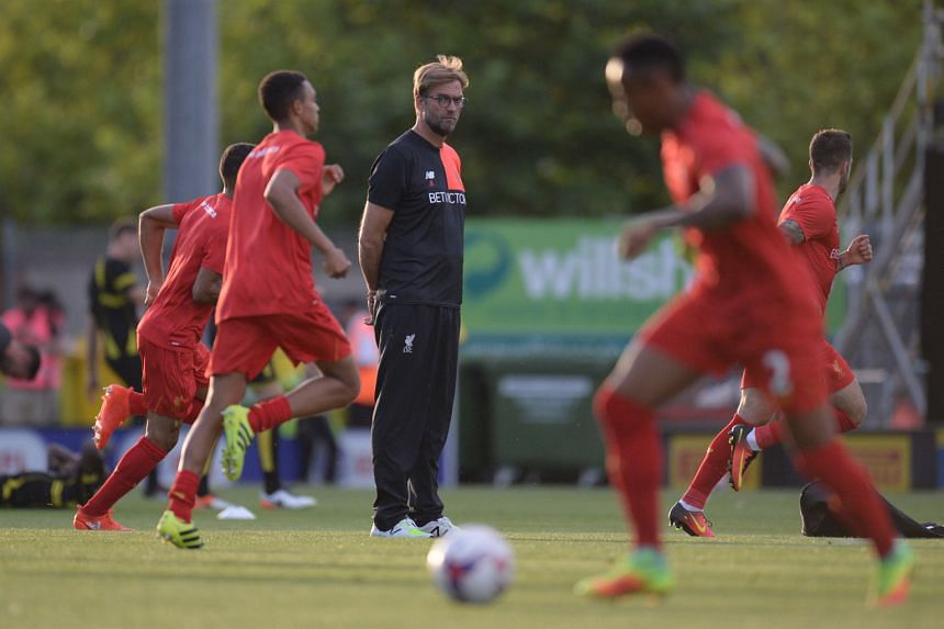 Jurgen Klopp keeping a close eye on Reds players at training. Manchester City and Liverpool are the two EPL sides with the most possession, as well as those who cover the most distance and sprint the most.