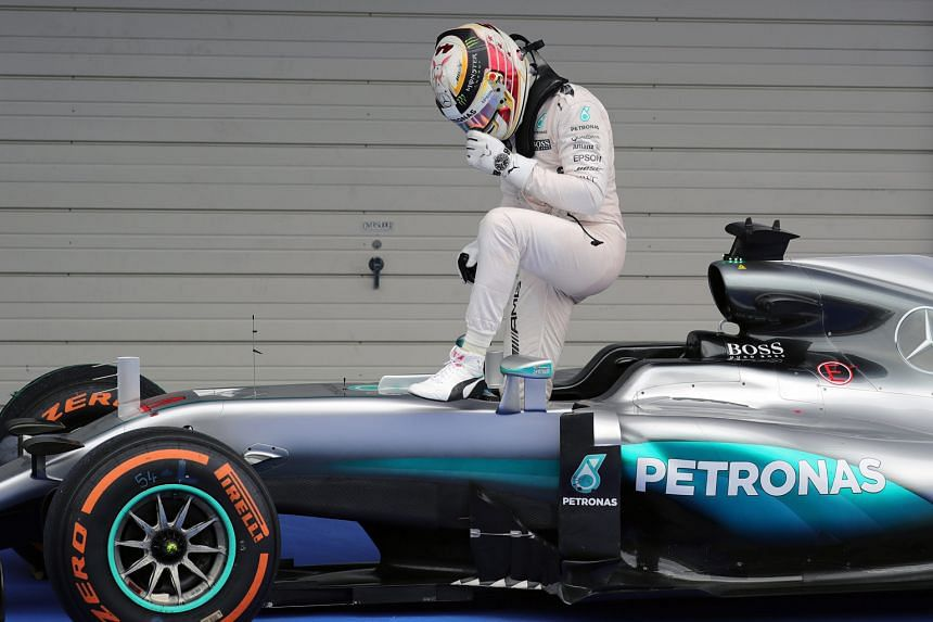 Lewis Hamilton has not won a race since July and trails team-mate Nico Rosberg by 33 points with four races remaining.
