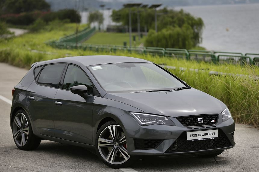The Seat Leon Cupra 2.0TSI comes with a front differential lock, progressive steering, VW's dynamic chassis control and various drive modes.