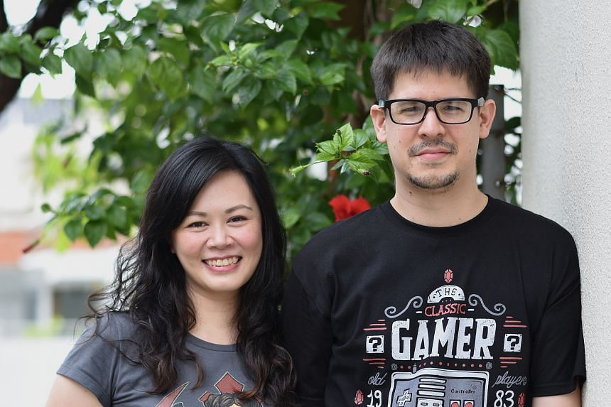 Adan Jimenez and Felicia Low-Jimenez (both left), the creators of the Sherlock Sam series (above), look forward to hearing what their characters will sound like.