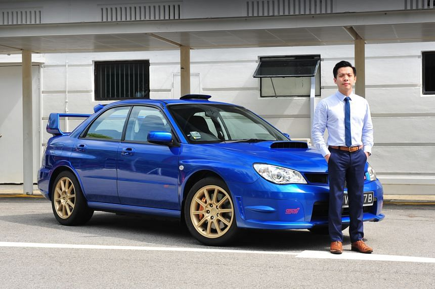 Mr Errol Lim drives his Subaru Impreza WRX STI Spec C only on weekends and has clocked just a little more than 36,000km in six years.