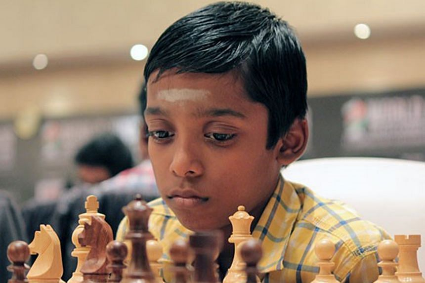 Eleven-year-old Rameshbabu Praggnanandhaa is being tipped by chess observers to become the youngest grandmaster. The Chennai prodigy is the youngest international master.