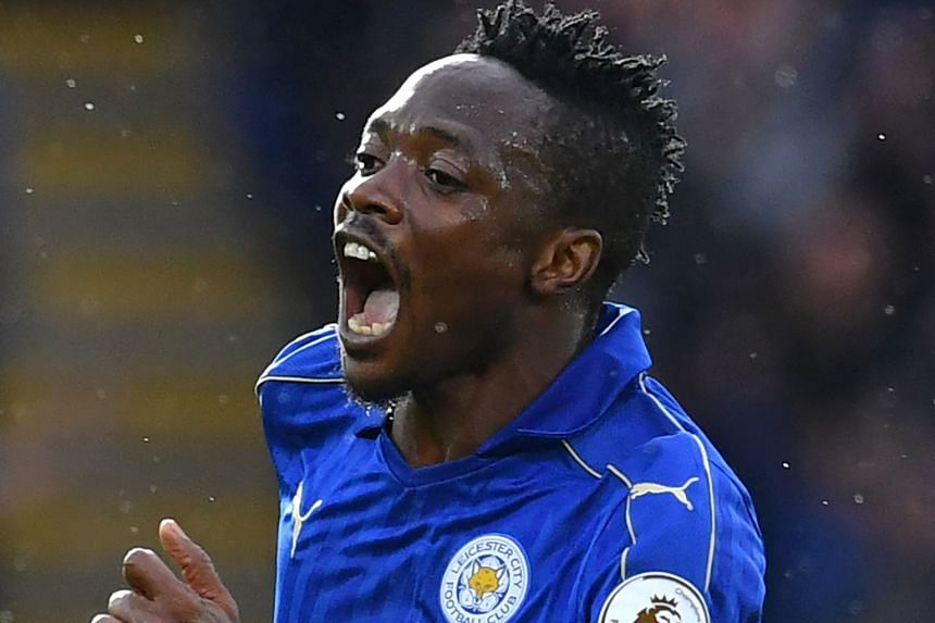 The Nigerian Ahmed Musa has finally added his name to Leicester's scoring chart.