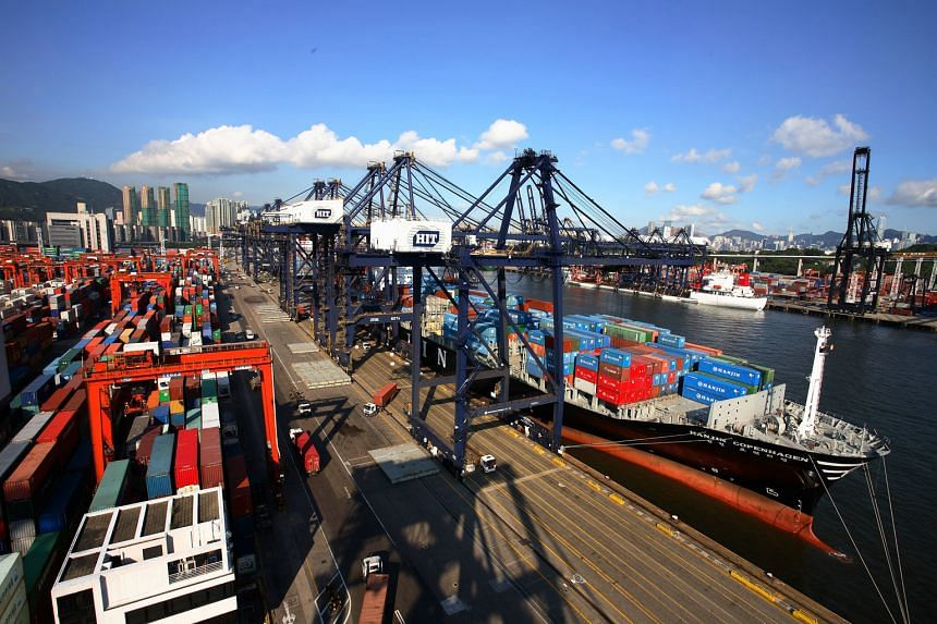 HPHT's revenue fell 6.8 per cent as container throughput for its assets at Hong Kong International Terminals dived 5.3 per cent, compared with the same quarter last year.