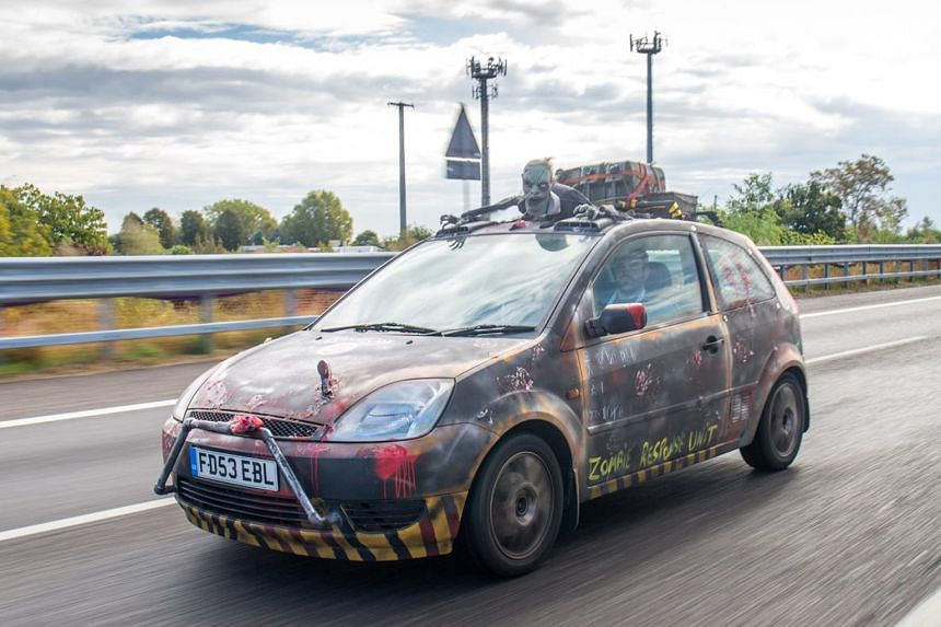 Zombie-Fighting Ford Fiesta