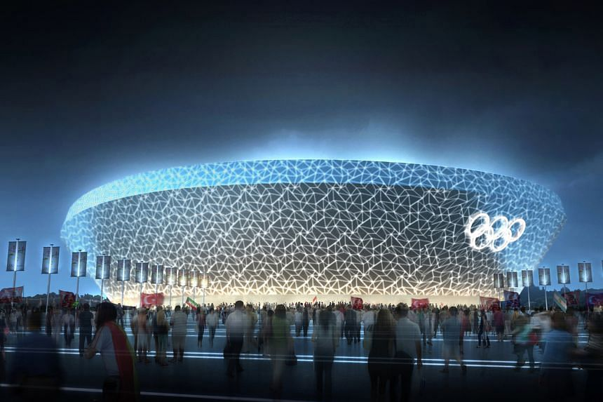 Mr Pauline was also one of the key designers of the Beijing National Aquatics Center (above) for the 2008 Olympics. Multi- disciplinary design practice Hassell's design principal John Pauline (above) and the Bosporus Olympic Stadium Proposal, Istanbu