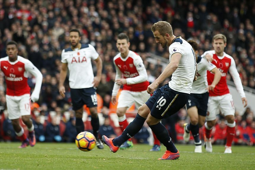 Tottenham's Harry Kane made a scoring return to his side by netting the equaliser with a second-half penalty, ensuring Spurs would remain the only unbeaten team in the Premier League.