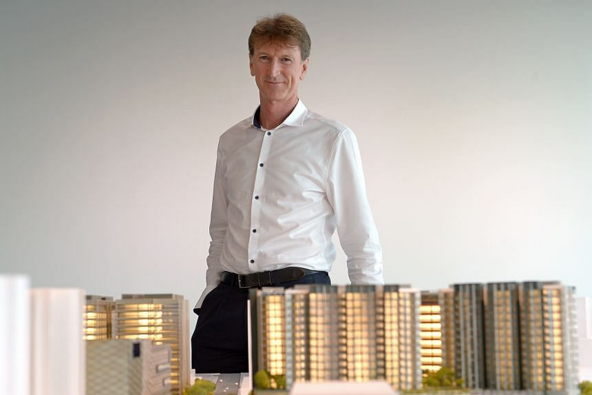 Mr Richard Paine, Lendlease's managing director for Paya Lebar Quarter, and his team took walks in the neighbourhood to understand the context of the development's location and gain a sense of the community.