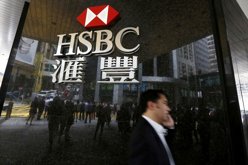 HSBC's core capital ratio, a key measure of financial strength, rose to 13.9 per cent at the end of the September quarter from 12.1 per cent at end-June.
