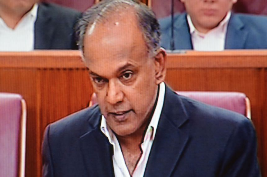 """Mr Shanmugam described as cynical the WP's view that """"the whole exercise is to fix a non-People's Action Party government""""."""