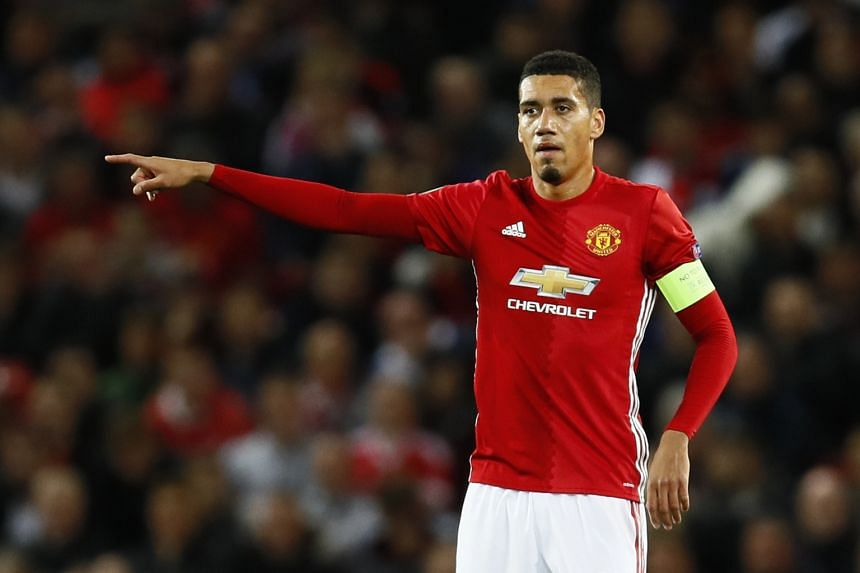 Chris Smalling last played for Manchester United in their 4-0 thrashing by Chelsea on Jose Mourinho's return to Stamford Bridge on Oct 23. Rumours that he had broken a toe in two places were denied by the manager yesterday.