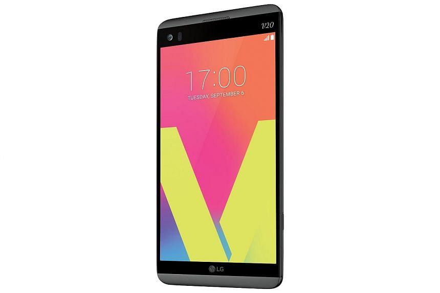 The LG V20 is a premium phone for hardcore users.