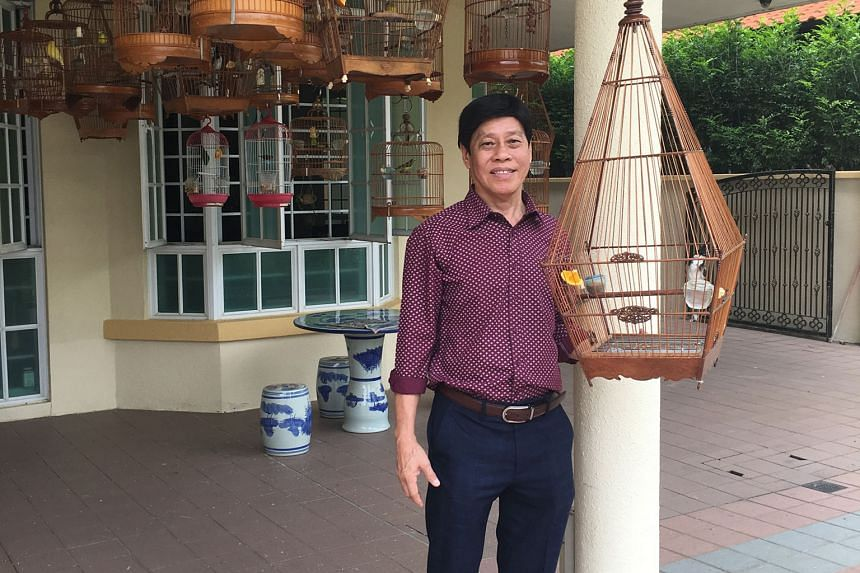 Mr Lai, who is a bird enthusiast, retired nine years ago. Now he invests his time grooming young people in the business community.