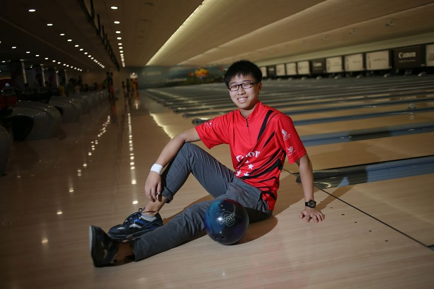 Cheah Ray Han, 16, is the youngest champion of the national Open, and the first to hold both senior and youth titles at the same time.