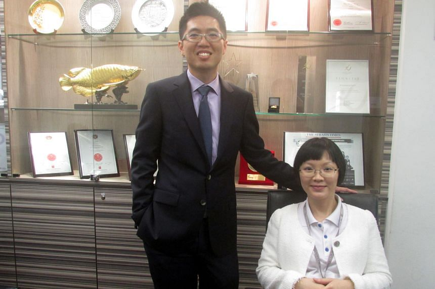 The firm Mr Chai and wife Stephanie set up is built on family-friendly measures.