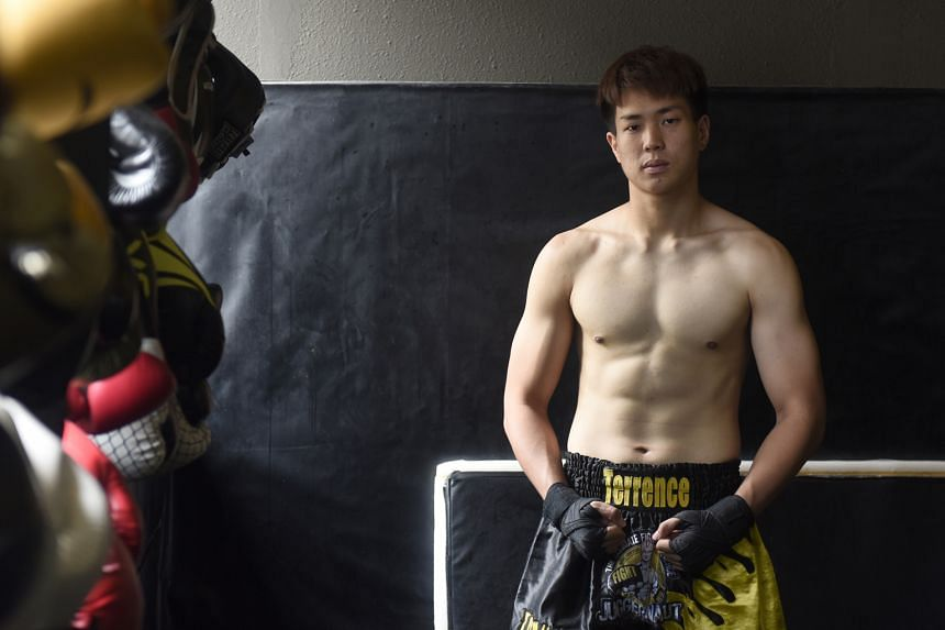 Mr Teo is determined to do well in his studies and also be a successful fighter.
