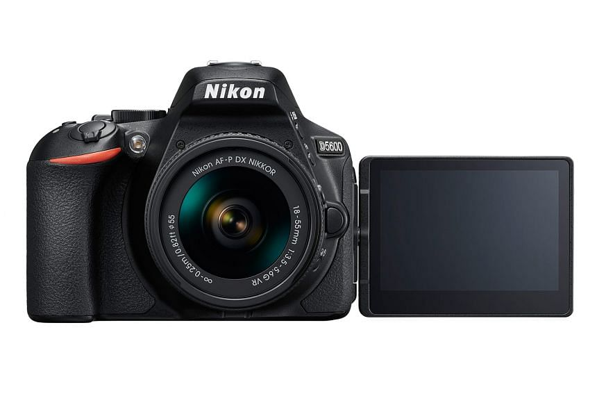 The Nikon D5600's added features are the SnapBridge app support with Bluetooth and Near Field Communications.