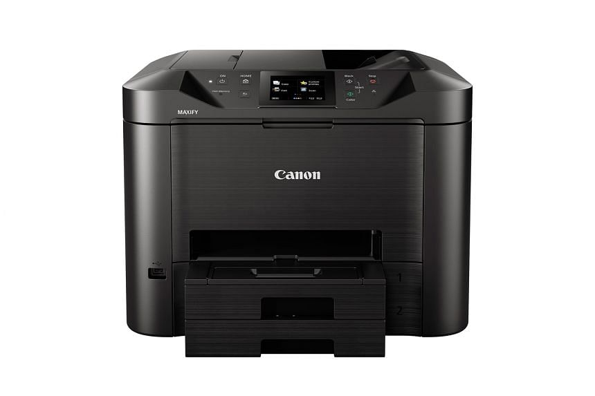 The Canon MB5470 produced excellent printouts, with sharp crisp text and good-looking images, during tests.