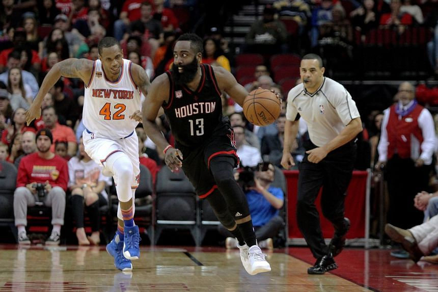 6e5762b455fb Basketball  Harden 1st in NBA history to have 50-15-15 triple double ...