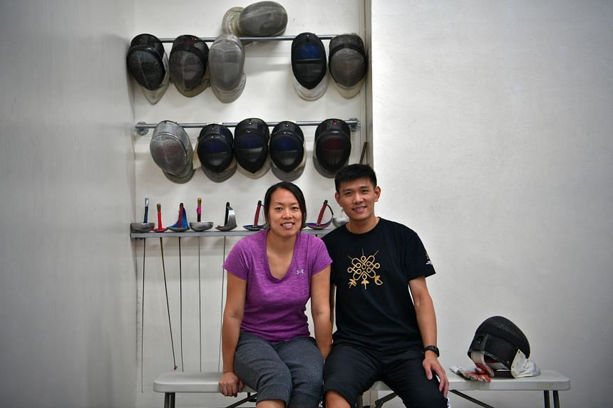 Running Absolute Fencing, which has close to 100 members including two national fencers, is keeping Wang Wenying busy.