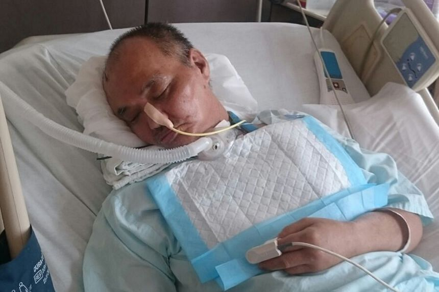 Retiree Lim Chwee Leong, 64, remains comatose at Tan Tock Seng Hospital almost two months after he fell while riding an escalator at Bishan MRT station.
