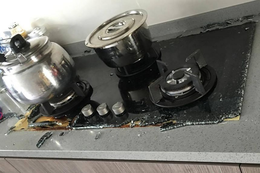 Ms Shirlyn Lim said she was boiling water when her Electrolux cooker hob exploded last August. The firm said it has been working closely with Spring Singapore since last April, when it received the first report of a problem.